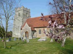 St Marys church at Salcott