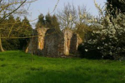 Ruins of St Mary's, Virley - copyright Glyn Baker - used under CCL