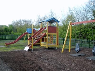 Newly refurbished Moss Haye playground, Peldon