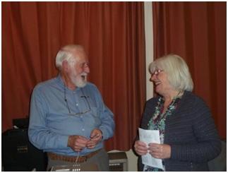 John Wrigley & Sue Copeland
