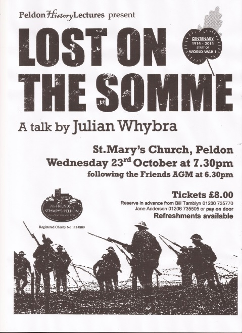 lost on the somme