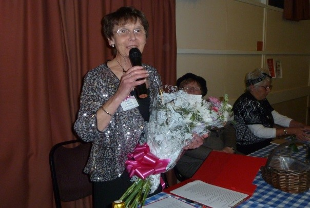 pam foakes outgoing president