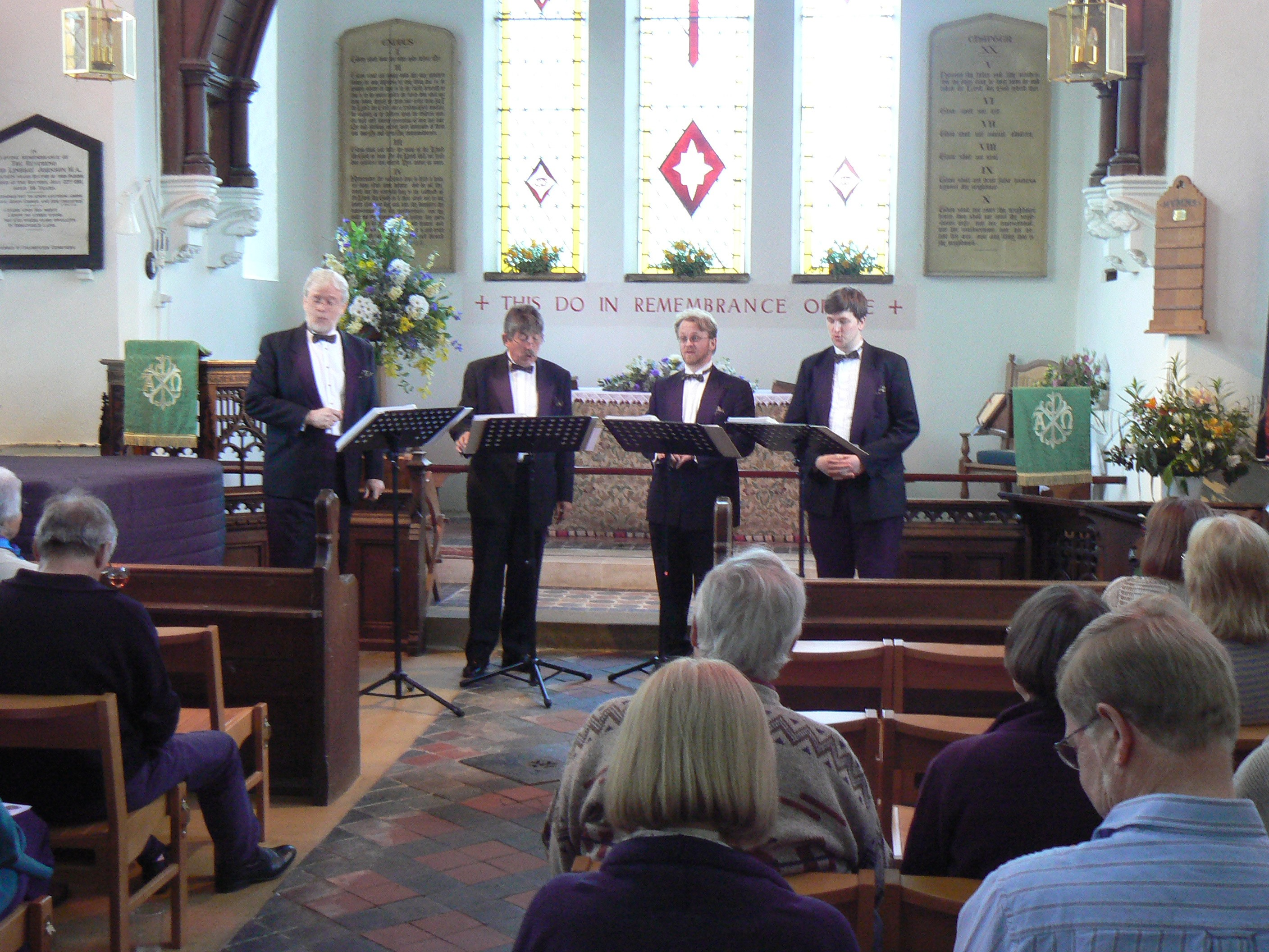 song cycle in peldon church