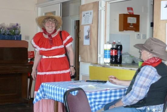 Jean Hedger & Sheriff Sue Copeland