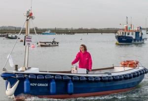 Lady Grace off West Mersea
