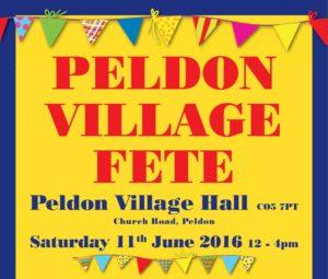 Peldon Village Fete 2016