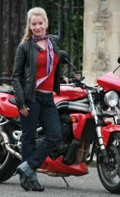 Lucy Allen & Bike