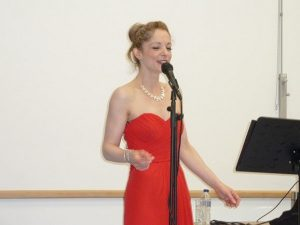 Emily Yarrow singing