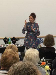 Amanda Sutherland talked about her creative journey